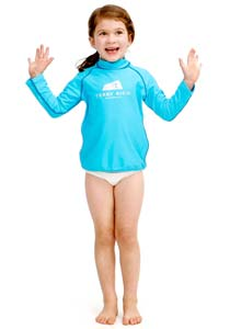 Girls Rash Vest UV