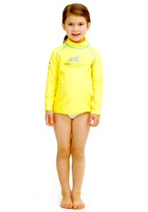 Girls Rash Vest