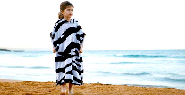 Kids Poncho Cover Up